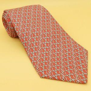 Hermes Paris 7881 MA Fishhook Tie